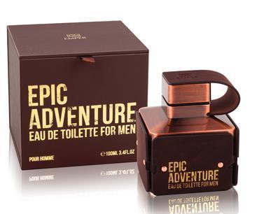 Туалетная вода для мужчин EMPER «EPIC ADVENTURE», 100 мл