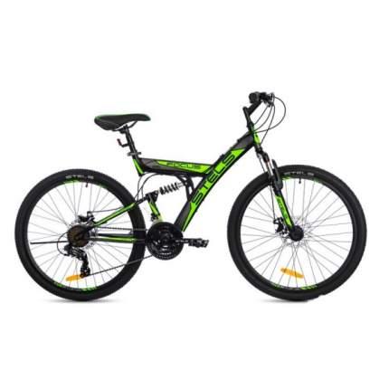 "Велосипед Stels Focus 26 MD 21-Speed V010 2017 18"" black/green"