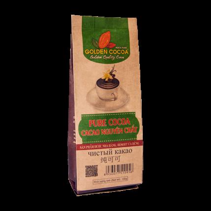 Какао вьетнамское Hucafood pure cocoa 100 г