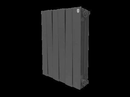 Радиатор биметаллический Royal Thermo PianoForte Noir Sable 591x485