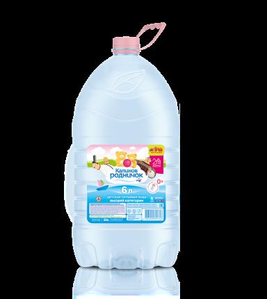 Детская вода Калинов Родник Родничок 6 л