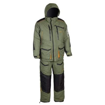 Костюм для рыбалки Huntsman Siberia, 48 RU, 50 RU/172-180, хаки/черный