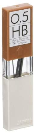 """Грифели для механических карандашей Tombow """"Mono"""", 0,5 мм, HB, 12 штук"""
