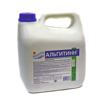 Маркопул Кемиклс, АЛЬГИТИНН, 3л канистра, жидкость для борьбы с водорослями, М06