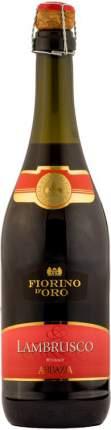Игристое вино Abbazia  Fiorino d'Oro Lambrusco Rosso