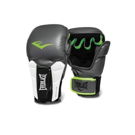 Боксерские перчатки тренировочные Everlast Prime MMA 3200000 зеленые 6 унций