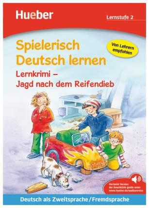 Spielerisch Deutsch Lernen-Lernkrimi, Jagd