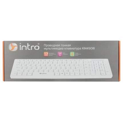 Клавиатура Intro KM490W White
