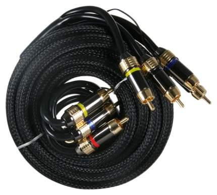 Кабель автомобильный KICX межблочный кабель RCA-06
