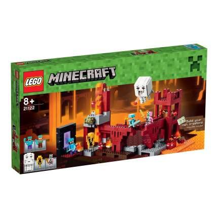Конструктор LEGO Minecraft Подземная Крепость (21122)