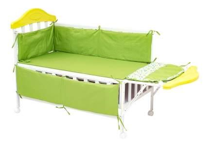 Кроватка BabyHit Sleepy-green 120x60