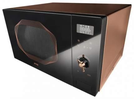 Микроволновая печь с грилем Gorenje MO25INB brown/black