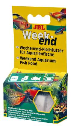 Корм для рыб JBL Weekend на время выходных, блок, 26 г