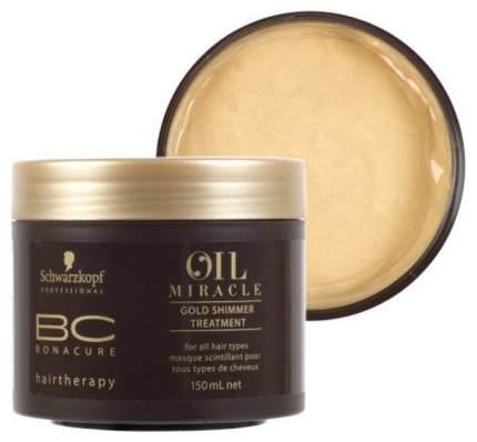 Маска для волос Schwarzkopf Professional Bonacure Oil Miracle Gold Shimmer 150 мл