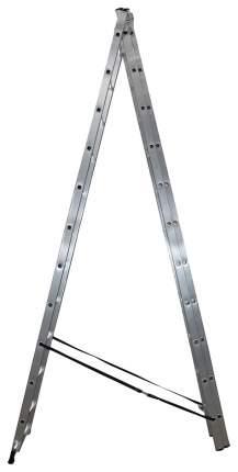 Алюминиевая трехсекционная лестница Dogrular Ufuk Pro 3x11 4311