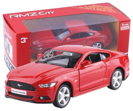 Коллекционная модель Uni-Fortune машины металлическая Rmz City 1:32 Ford Mustang 2015