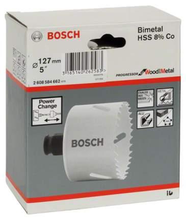 Биметаллическая коронка Bosch PROGRESSOR 127мм 2608584662