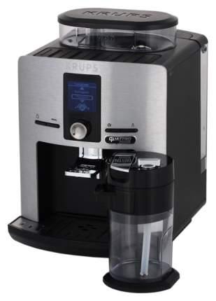 Кофемашина автоматическая Krups Quattro Force EA82FD10 Silver, Black