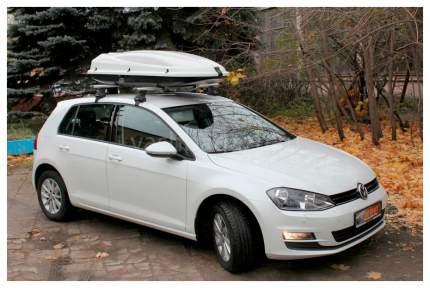Бокс на крышу автомобиля ATLANT Arctic 434 8583 434л белый металлик 171х73х36