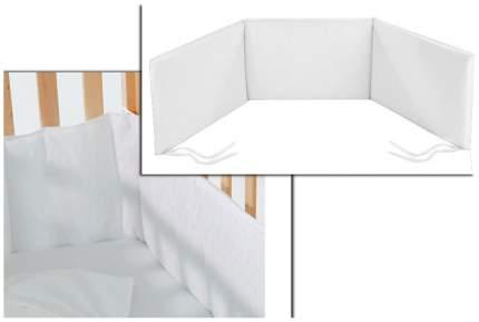 Бампер для детской кроватки Italbaby 225,9998-5 Белый