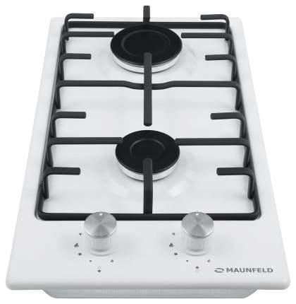 Встраиваемая варочная панель газовая MAUNFELD EGHE.32.3EW/G White