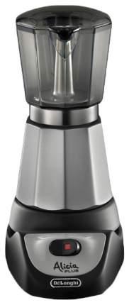 Гейзерная кофеварка DeLonghi Alicia EMKM.4.B Silver