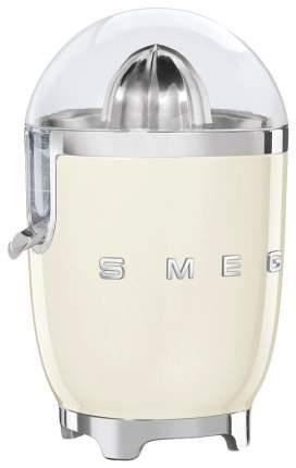Соковыжималка для цитрусовых Smeg CJF01CREU beige/silver