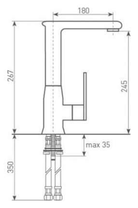 Смеситель для кухонной мойки Zigmund & Shtain ZS 0700 осенняя трава