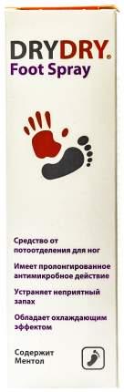 Дезодорант для ног Dry Dry Foot Spray 100 мл