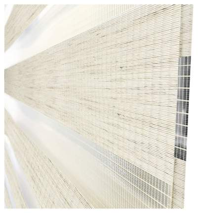 Рулонная штора Эскар День-Ночь 170х37 цвет бежевый; белый