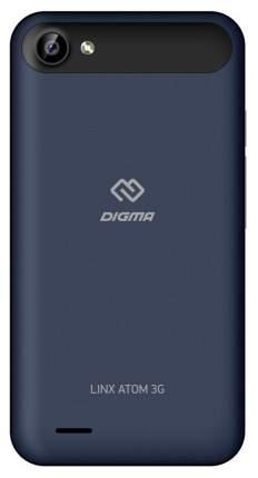 Смартфон Digma Linx Atom 3G 4Gb Blue