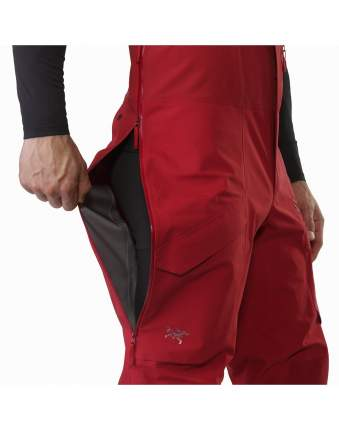 Спортивные брюки Arcteryx Rush LT, red beach, S INT