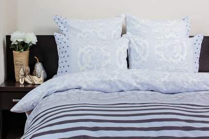 Комплект постельного белья Ночь нежна Madrid Цвет: Серый (1,5 спальное)