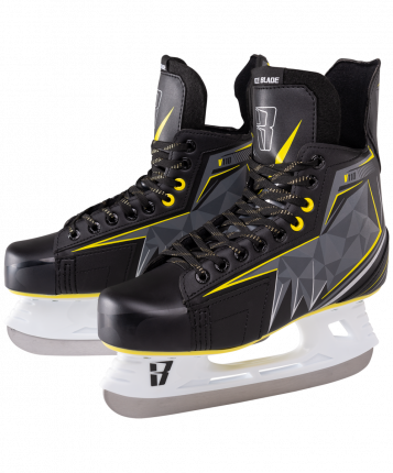 Коньки хоккейные Ice Blade Vortex V110, black/grey, 37 RU