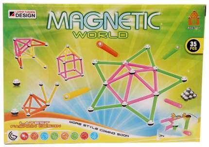 """Магнитный конструктор """"Супер-палочки"""", 35 деталей"""