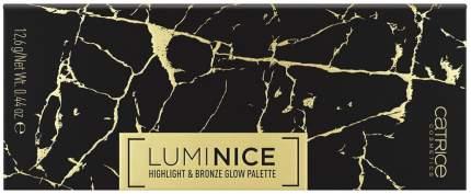 Набор для макияжа Catrice Luminice Highlight & Bronze Glow Palette 020 Feel Gold