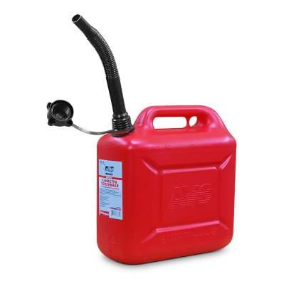 Канистра топливная пластиковая 10 Л (красная) AVS TPK-10