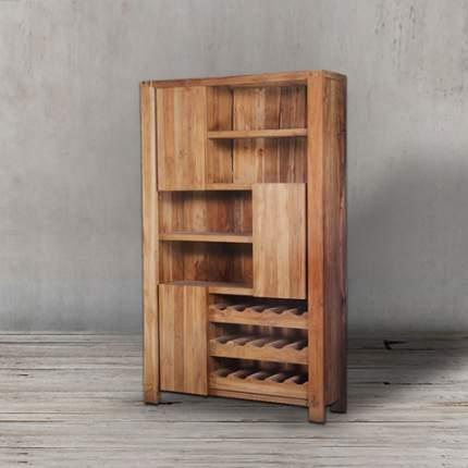 Платяной шкаф ROOMERS Marco 7BSMCW128037210 128х37х210, natural grey