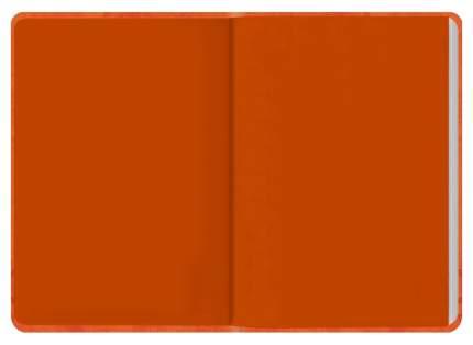 Ежедневник датированный на 2020 год Феникс+ «Джинс делавэ» А6+, 176 листов Оранжевый