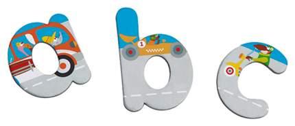 Магнитные буквы Scratch Magnetic ABC City Разноцветый