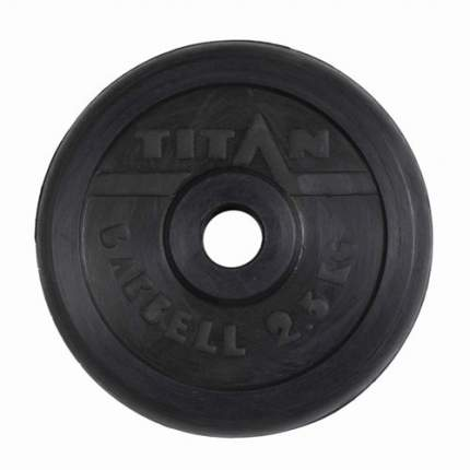 Диск для штанги MB Barbell Титан 2,5 кг, 31 мм