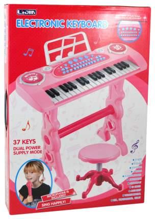 Детский электроорган с микрофоном и стулом, 37 клавиш  Shantou