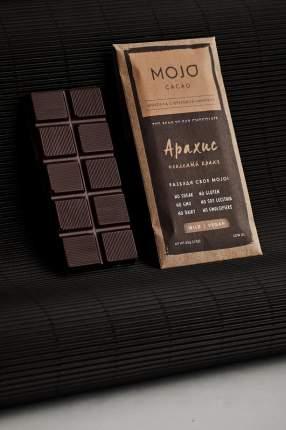 Горький шоколад 72% Mojo Cacao с шоколадно-ореховой пастой со вкусом арахис