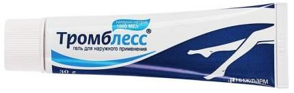 Тромблесс гель 1000 ЕД/г 30 г