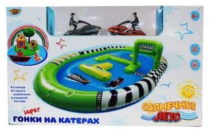 Игровой набор Shantou Gepai Забавные гонки, водный скутер р/у 2 шт. аксессуары M6677