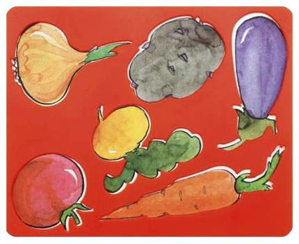 Трафарет Луч Овощи