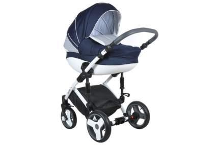 Коляска Tutis Zippy Mimi Plus Premium 2 в 1 темно-синий, белый, крап
