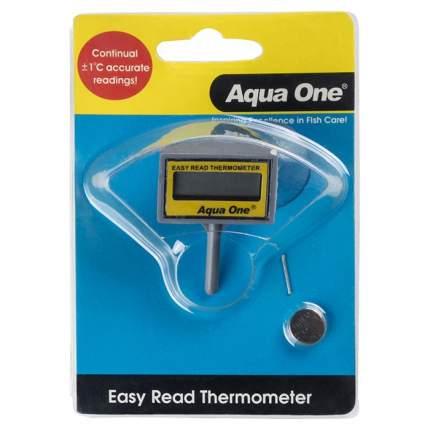 Термометр для аквариума Aqua One Easy Read LCD, электронный, погружной