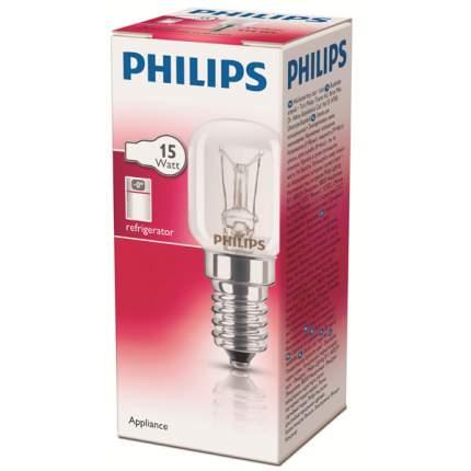 Лампа Philips Appl15W E14 T25 CL RF 1CT