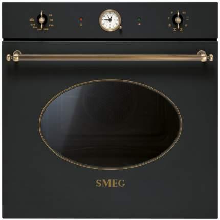 Встраиваемый электрический духовой шкаф Smeg SFP805AO Black